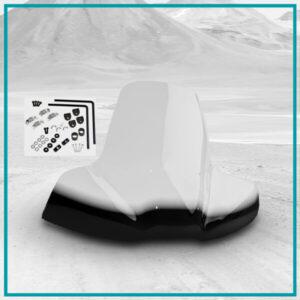 Vetrobran za ATV univerzalna montaža